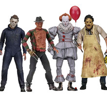 Friday The 13th Deel 5 EEN Nieuw Begin Jason Leatherface Kettingzaag Ultieme Michael Myers Krueger Pennywise Action Figure Speelgoed(China)