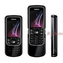 Nokia 8600 Luna мобильный телефон разблокированный 2G GSM сотовый телефон и русская клавиатура и один год гарантии