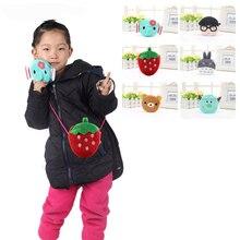 20Style Kawaii Multi-function Girls Mini Purse Bag Cute Cartoon Boys Small Plush Coin Purse Children Handbag Kids Shoulder Pouch