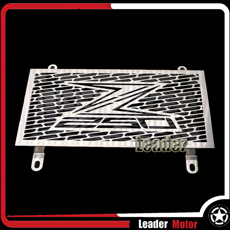 ФОТО For Kawasaki Z250 Z 250 2013 2014 2015 Motorcycle Accessories Radiator Grille Guard Cover Protector