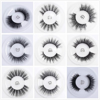 for 20 pairs silk eyelashes without box and logo