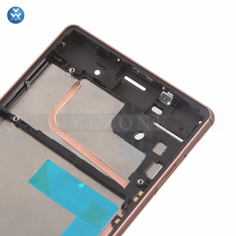 Sony Xperia Z3 LCD & Digitizer Assembly with Frame - Copper (7)