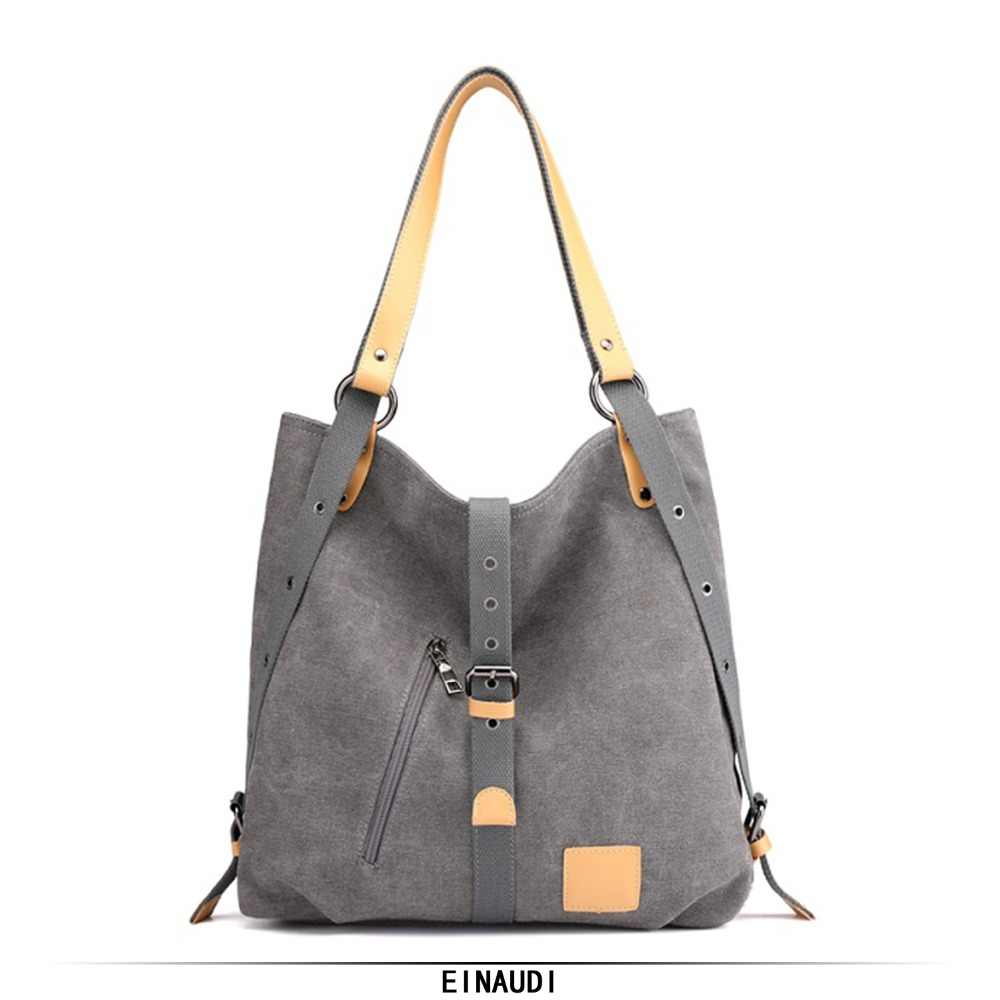 8b370306f092 Women Handbags Female Canvas Bags Ladies Hand Bags For Women 2018 New Lady  Vintage Casual Tote