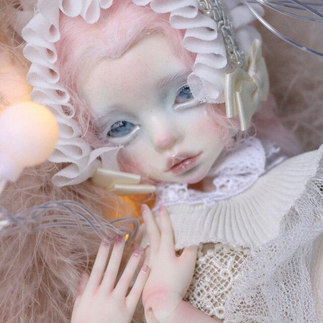 Muñeca BJD DIM Larina 1/4, platillo de labios gruesos, Minifee Luts para mujer, cuerpo MSD, juguetes para niña, muñeca Oueneifs en mente FL