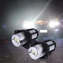 2 шт. автомобиль-Стайлинг halo LED кольцо маркер свет Angel глаза лампа для bmw E90 E91 05- 08 12 В автомобилей передняя фара Туман лампа