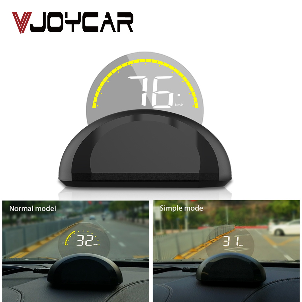 Mirror HUD OBD2 Car Head Up display Windshield Projector On Board Computer Speedometer Security Alarm Water