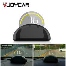 Specchio HUD OBD2 Car Head Up display Parabrezza Proiettore Del Computer di Bordo Tachimetro di Allarme di Sicurezza della temperatura Dellacqua di Velocità Eccessiva RPM