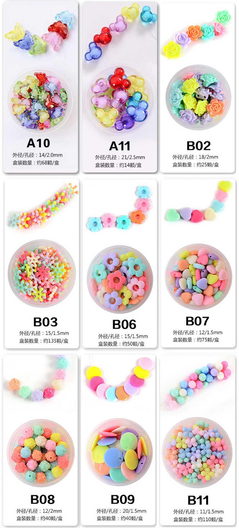 Enfants bricolage créatif perles jouet enfants filles à la main art artisanat jouets éducatifs pour cadeaux cadeaux GYH