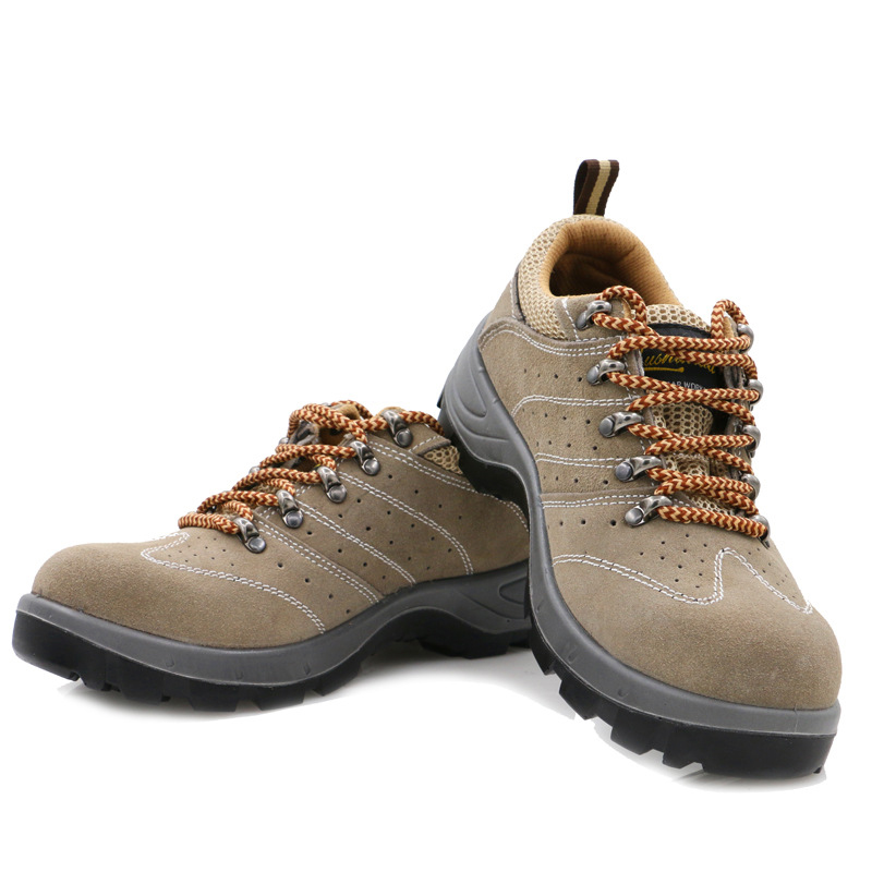 New Design Unisex Mesh Lace-up Safety Steel Toe Cap Hiking Shoes Work Trainers Boots Lightweight Industrial 2019 Acecare-W