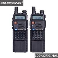 """מכשיר הקשר 2pcs Baofeng UV5R 3800 mAh ארוך טווח מכשיר הקשר 10 ק""""מ Dual Band UHF & VHF UV5R Ham Hf במקלט נייד UV 5R תחנת רדיו (1)"""