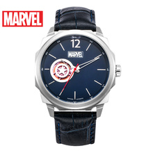 Disney official original Marvel captain america automatic watch Waterproof Male stainless Steel Luxury SAPHIRE CRYSTAL M-9007