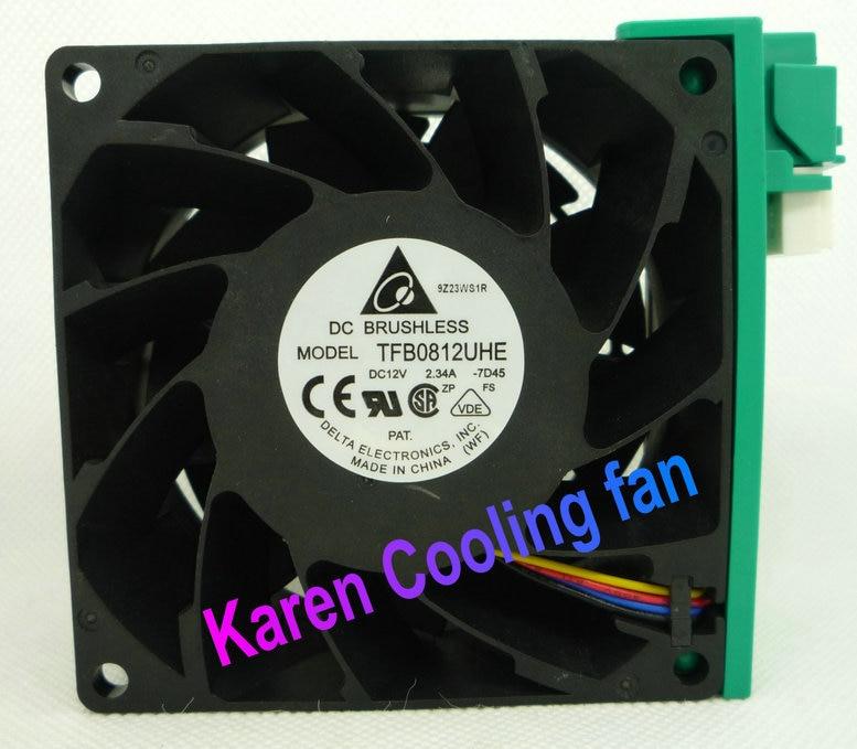 DELTA 8CM TFB0812UHE 803812v 2.34a 1597b0212301 Cooling fan ibanez tm302 tfb