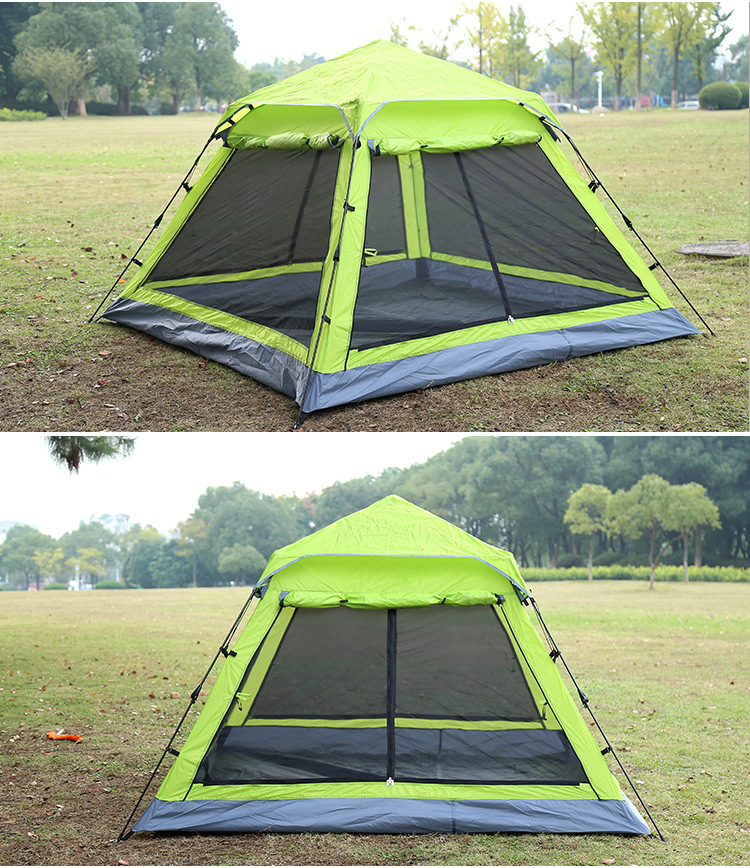 Shengyuan 3 4persons fully automatic tent automatic c&ing family tent in good quality family travel tent-in Tents from Sports u0026 Entertainment on ... & Shengyuan 3 4persons fully automatic tent automatic camping family ...