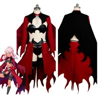 Fate/kaleid liner PRISMA Illya Kuro(Black)Emiya Red Archer Dress Cosplay Costume