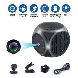 Md21 mini câmera hd 1080 p visão noturna infravermelha camcorder carro dvr dv gravador de vídeo esporte câmera digital apoio tf cartão pk md80