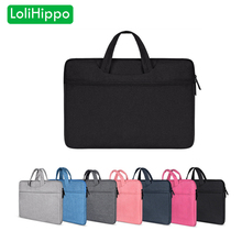 LoliHippo Shockproof Laptop Bag Universal Notebook Briefcase for MacBook Apple Pro Air Dell HP Xiaomi 11.6 13.3 14.1 15.4 15.6