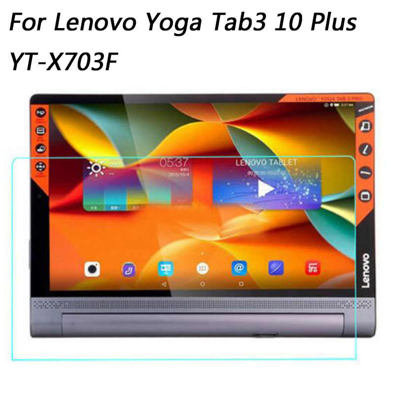 Tempered Glass For Lenovo Yoga Tab 3 10 Plus / Pro YT-X703F 10.1 inch HD Tablet Screen Protector 9H Toughened Protective Film