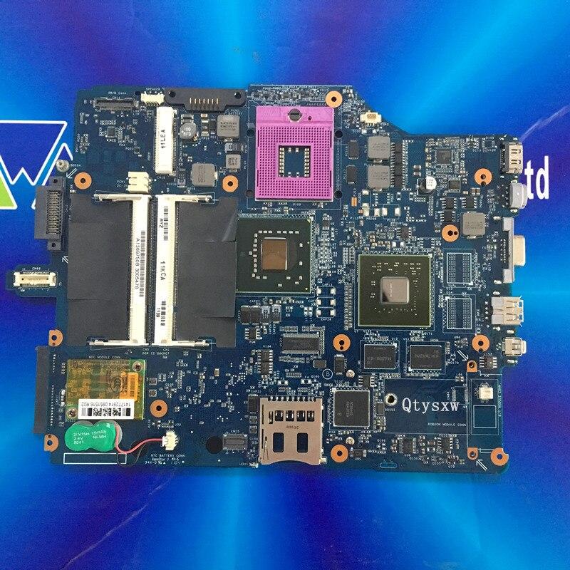 Free shipping 2 memory MBX 165 MS91 motherboard for sony VGN FZ15 FZ25 FZ35 FZ17 FZ37