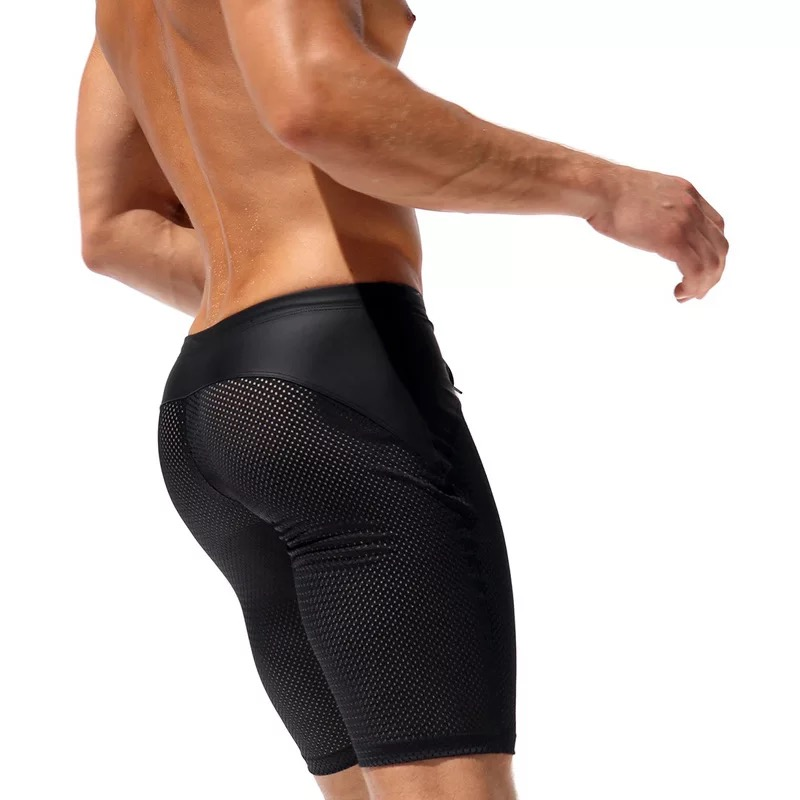 Topdudes.com - Sexy Slim Fitted Men's Tight Summer Breathable Beach Shorts
