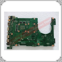 Original New Motherboard For For ASUS N550LF Q550LF Motherboard With Intel I5 4200U Mainboard GT745M Tested