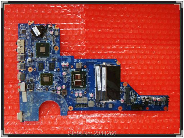 655985-001 para hp pavilion g4 g6 g7 mainboard del ordenador portátil da0r22mb6d1 ddr3 + core i3-370m cpu + geforce gt520m da0r22mb6d0 placa base