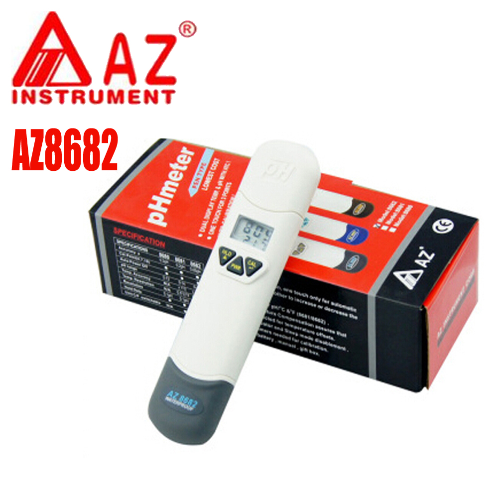 Фотография AZ8682 Precision pH meter PH tester aquaculture /  swimming pool Handheld water quality tester