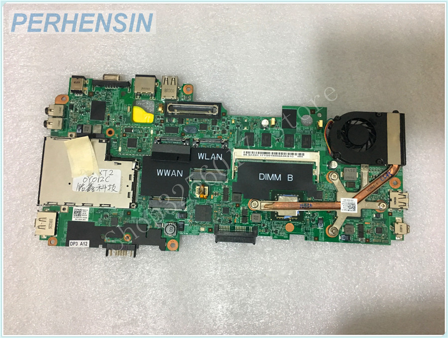 цена на FOR Dell FOR Latitude XT2 laptop motherboard R952P 0R952P CN-0R952P C2D SU9400 48.4AE02.011