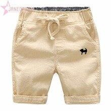 Janedream; летние пляжные шорты для маленьких мальчиков; Повседневные детские штаны с вышивкой; брюки; одежда для детей с эластичной резинкой на талии;#273904