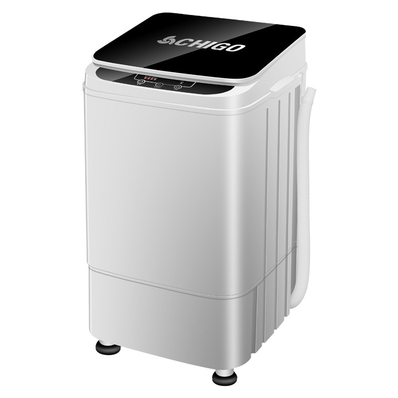 CHIGO 4.5kg Capacity Semi-automatic Washing Machine  Mini Portable Cloth Wash Machine Laundry Dehydration Washer Compact Machine