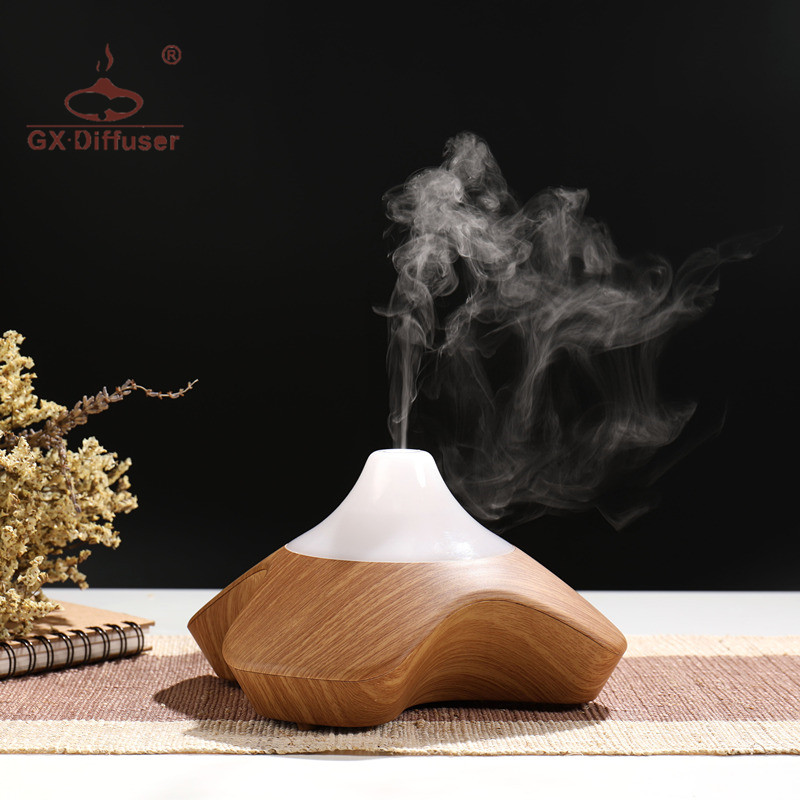 GX.Diffuser Four Leaf Clover Shape Ultrasonic Aroma Diffuser Aromatherapy Air Humidifier Essential Oil Diffuser Aromatherapy Oil hot sale humidifier aromatherapy essential oil 100 240v 100ml water capacity 20 30 square meters ultrasonic 12w 13 13 9 5cm
