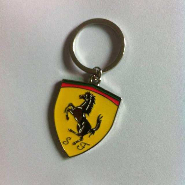 Car Life Styling Car Keychain For Ferrari Car Chains Key Rings