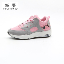 Canvas Color Sport Shoes For Women Sneaker Thick Bottom Female Street Walking Shoes Outdoor Shoes Travel Chaolk Women Shoes