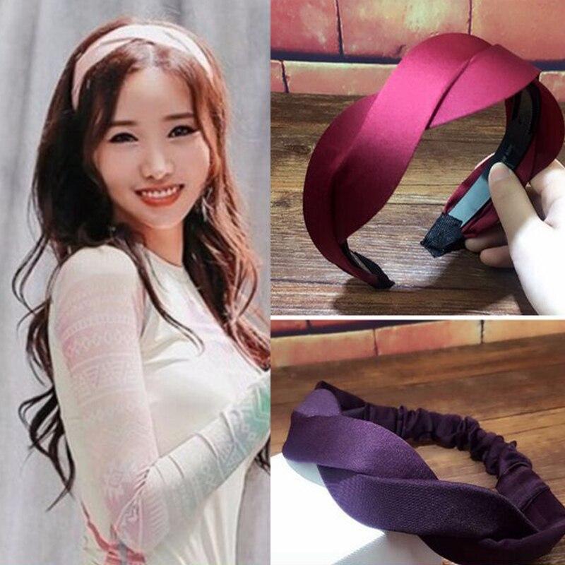 Trendy Handmade Woven Hairband Wave Hair Head Hoop Band Simple HeadBand For Women Girl Bangs Hairwear Hair Accessories Headdress