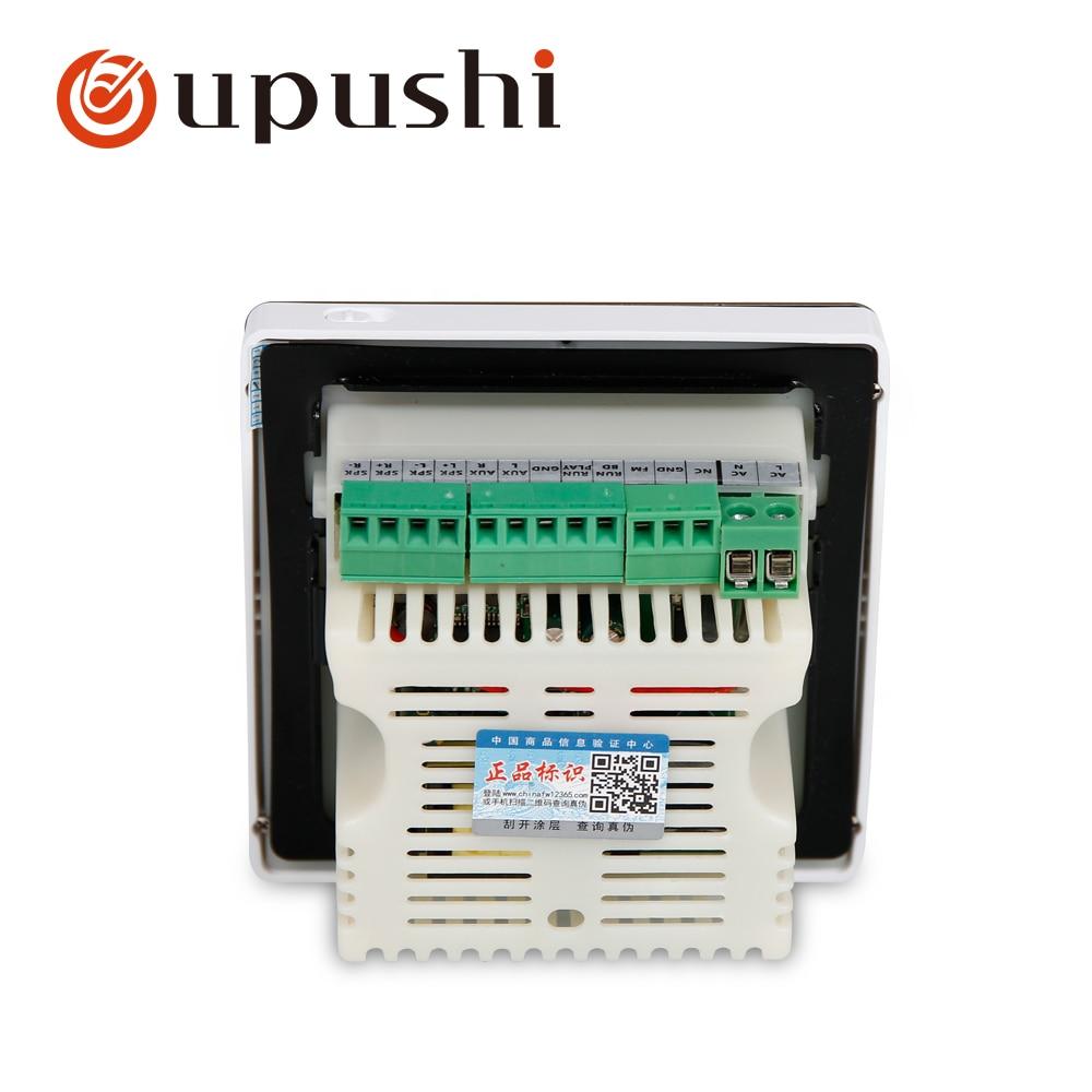 Oupush i A0 + ks818 petit système de cinéma maison système de musique de fond comprend hôte Bluetooth et haut-parleur ohm dans le plafond - 6