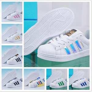 reputable site 8abb4 7759b Superstar shoes Top Quality 2018 New Fashion Men Women Originals GOLD and  black White Balanceds 574 shoe EUR Size36-44 AD0001