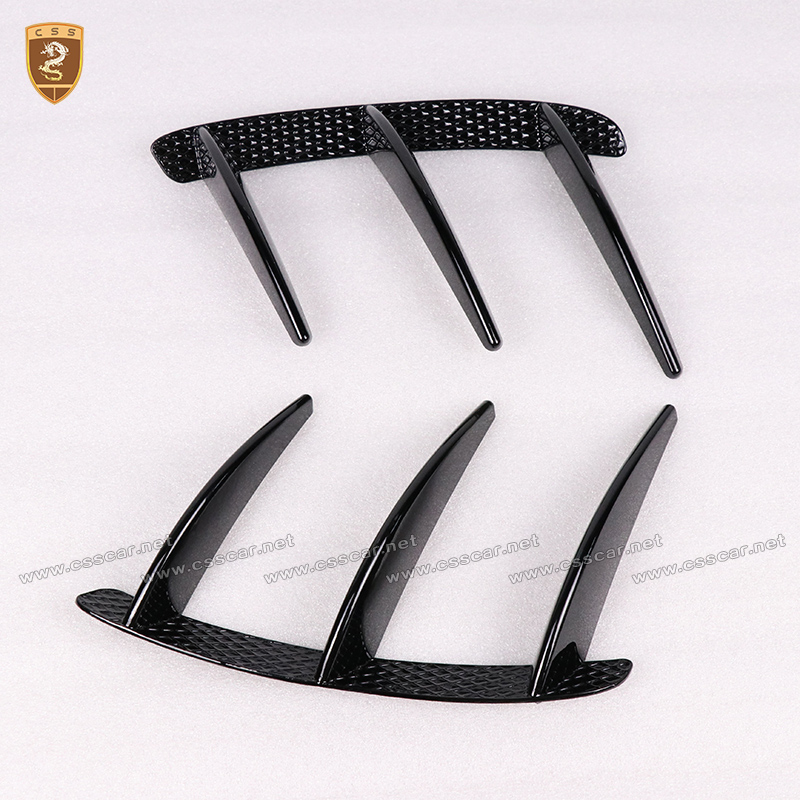 Rear Bumper Side Vents Cover Trim for Benz A Class A45 Air Vent Molding Trim Car Styling Auto Accessories