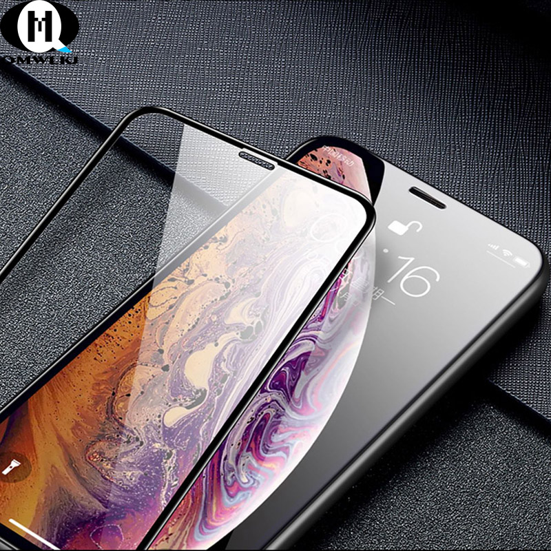 Explosion proof Tempered Glass Steel Film Screen Protective Protector For iPhone 6 6s 7 8 plus X XR Xs Max Tempered Film in Phone Screen Protectors from Cellphones Telecommunications