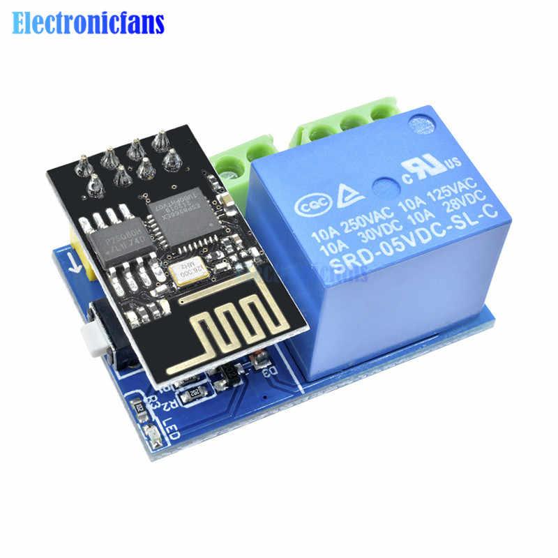 ESP8266 ESP-01 В 5 в Wi-Fi релейный модуль вещи умный дом пульт дистанционного управления переключатель для телефона ПРИЛОЖЕНИЕ ESP01 Беспроводной Wi-Fi модуль