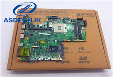 laptop motherboard FOR MSI MS-1675 GE600 MS-16751 Laptop Motherboard DDR3 VER 1.3 100% WORK PERFECTLY original ms 16j31 for msi gp62 gp72 laptop motherboard ms 16j3 fully tested