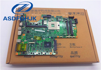 laptop motherboard FOR MSI MS-1675 GE600 MS-16751 Laptop Motherboard DDR3 VER 1.3 100% WORK PERFECTLY laptop motherboard for samsung np305v5a 305v5a ba41 01681a 100