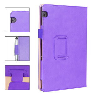 Image 3 - For Huawei MediaPad T5 10 Case PU Leather Hand Holder Cover For Huawei T5 10 AGS2 L09/L03/W09/W19 10.1 Tablet Case +Films