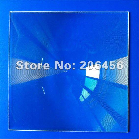Lentille de fresnel 250*250mm de mise au point 300mm pour l'énergie solaire, lentille de grossissement, lentille de fresnel optique acrylique de lumière LED de puissance