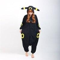 Winter Unisex Adult Long Sleeve Hooded Animal Onesies Anime Black Elves Pikachu Unicron Pajamas Flannel Unicornio