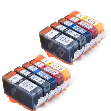 2sets Generic Inkjet printer Ink set for Canon PGI425 PGI-425 CLI-426 for CANON PIXMA MG6140 MG6240 MG6140 MG8240 PRINTER