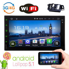 Android 5.1 7″ 2Din InDash Car Radio Stereo MP5 Player WiFi GPS No-dvd+Camera
