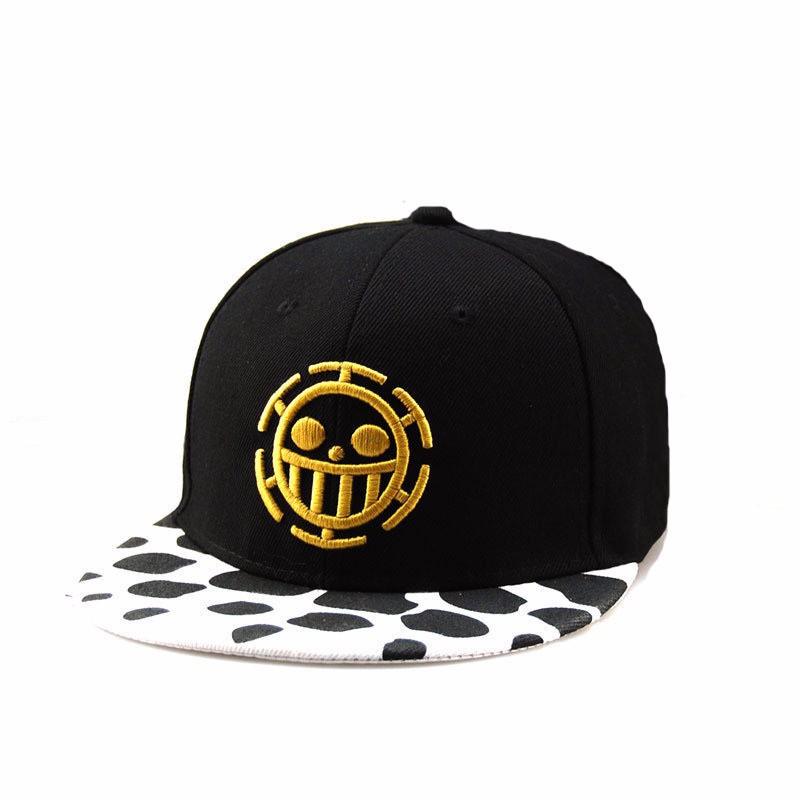 Free-Shipping-Fashion-One-Piece-Baseball-Cap-Hat-Trafalgar-Law-Caps-For-Womn-Men-Snapback-Caps