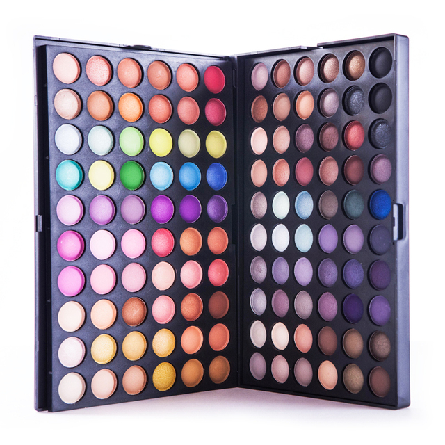 Best Sale Full 120 Color Eyeshadow Palette Professional Makeup Palette Eye Shadow Make up Shadows Cosmetics Black