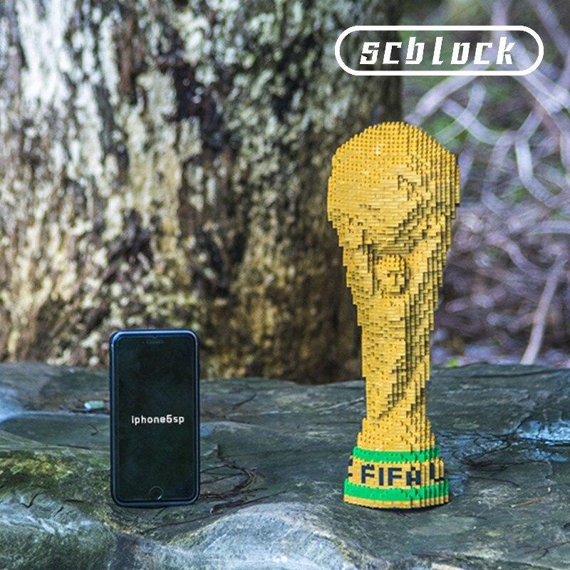 3500 + piezas 9001 nuevo diamante pequeños bloques de construcción de partículas juguetes para niños copa de fútbol mundial copa de fútbol-in Bloques from Juguetes y pasatiempos    3