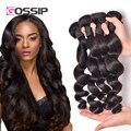 Malaysian Curly Hair Malaysian Loose Wave Virgin Hair 4 Bundles 7A Unprocessed Malaysian Virgin Hair Loose Wave Weave Human Hair