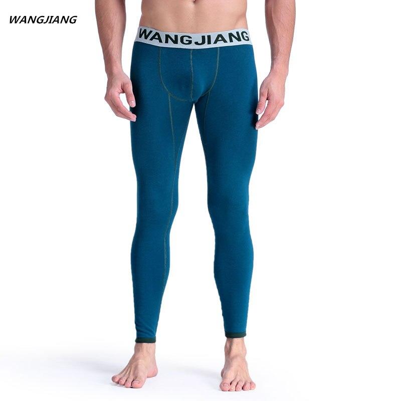Underwear & Sleepwears Brilliant New Men Long Johns Mens Warm Pants Elastic Line Of Mens Fashion Cotton Sexy Underwear Tight Legging Long Johns Plus Velvet Long Johns